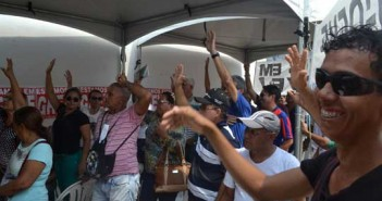 Trabalhadores da CAERD decidem suspender Greve