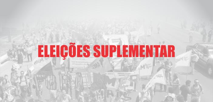 EDITAL DE CONVOCAÇÃO PARA ELEIÇÃO SUPLEMENTAR