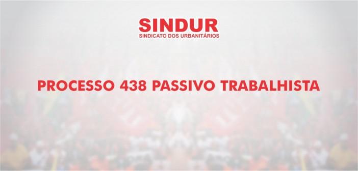 INFORME SINDUR – PROCESSO 438 (PLANO BRESSER/1987, VERÃO/1989 E 20 SALÁRIOS/1990)